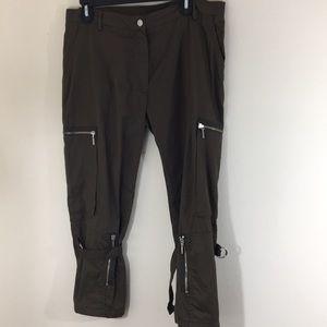 Plein Sud Runway Cargo Pants Sz 34